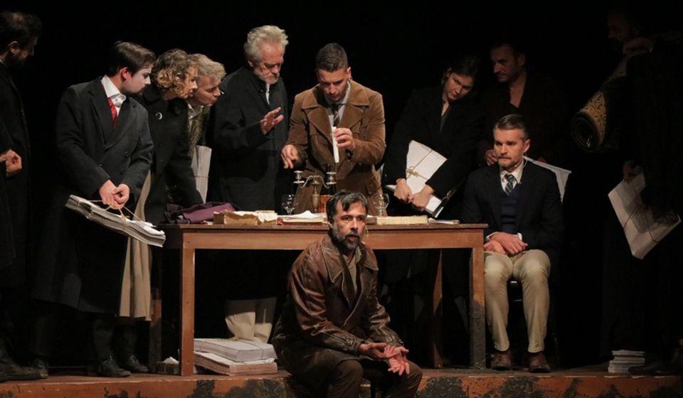 Detalj iz predstave Travnička hronika. Foto Vranje News
