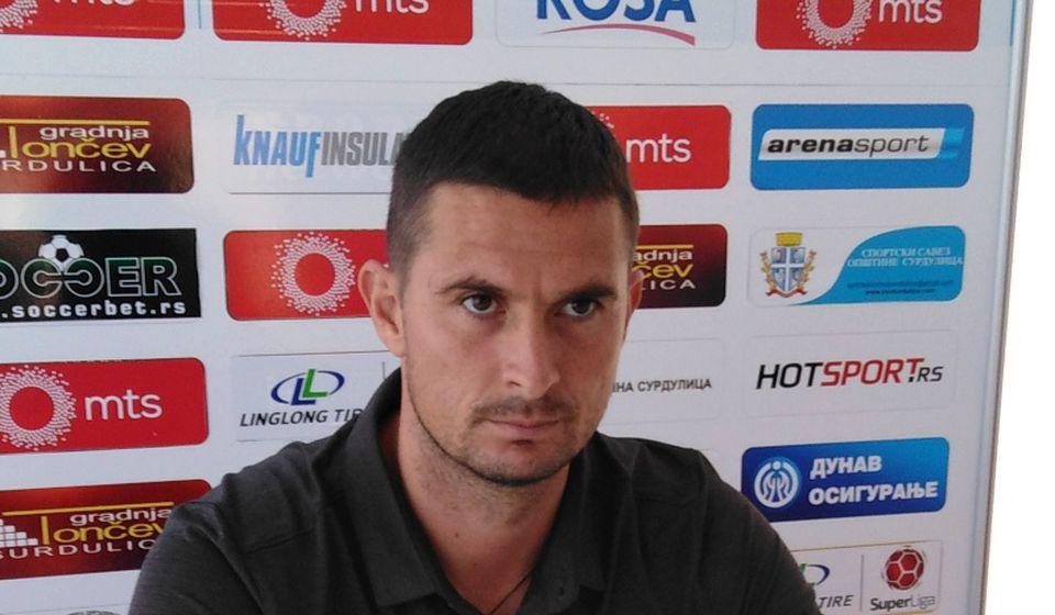 Šef stručnog štaba Radnika Slavoljub Đorđević. Foto D. Mirčev