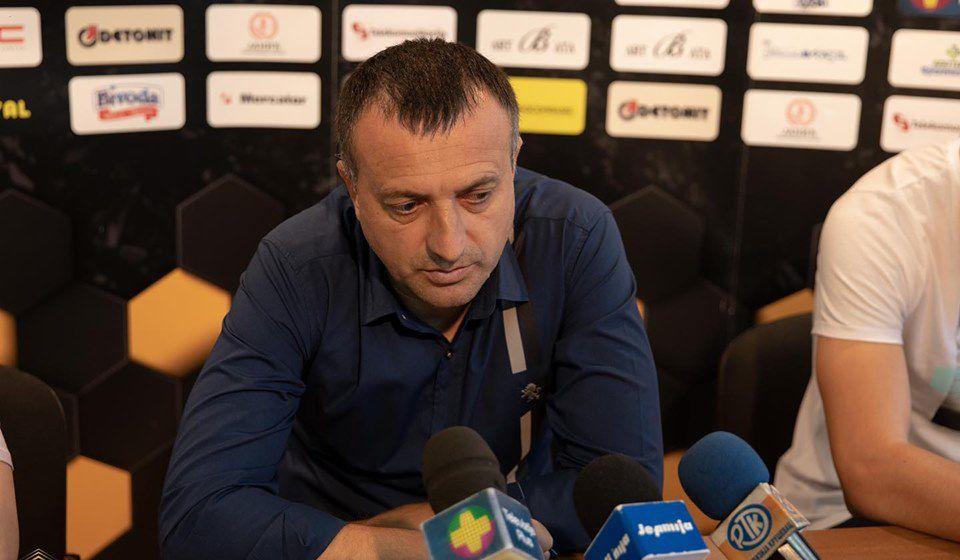 Goran Lazarević, trener Kruševljana. Foto FK Trajal