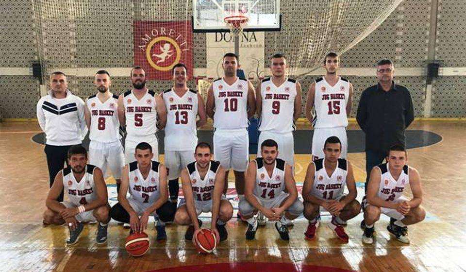 Bodovi u borbi za opstanak: košarkaši Jugbasketa. Foto Fejsbuk