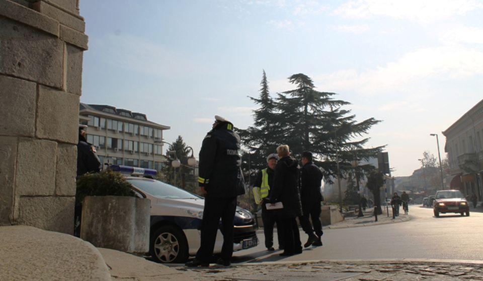 Dve saobraćajke, jedna sa težim povredama.Foto D. Dimić, VranjeNews
