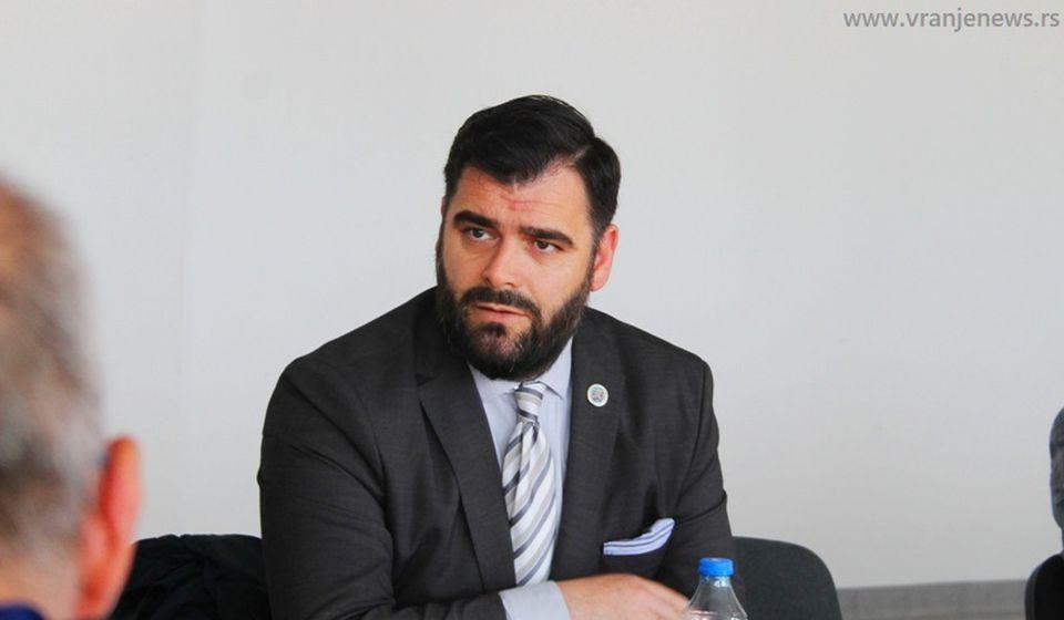 Ragmi Mustafa, predsednik Nacionalnog saveta Albanaca. Foto Vranje News