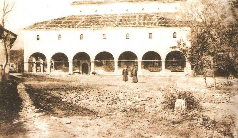 Crkva je nastojala da hristijanizira pagansku sadržinu spasovdanskih pesama: Hram Svete Trojice u Vranju, nekad. Foto ilustracija Staro Vranje