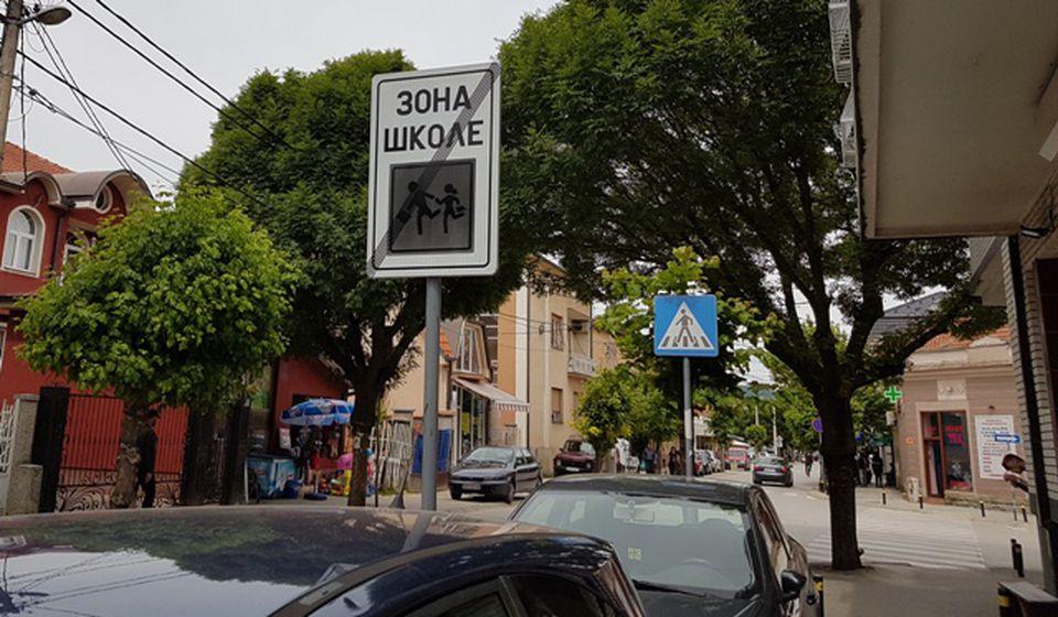 Sve se desilo u Karađorđevoj ulici u centru Vranja. Foto VranjeNews