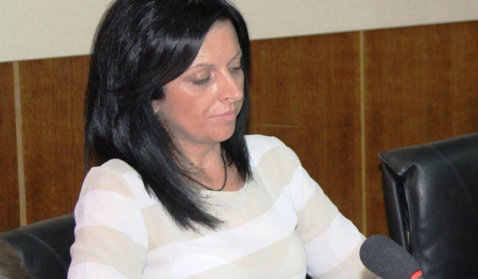 U planu je i reciklažno ostrvo: Marina Đorđević. Foto Vranjenews