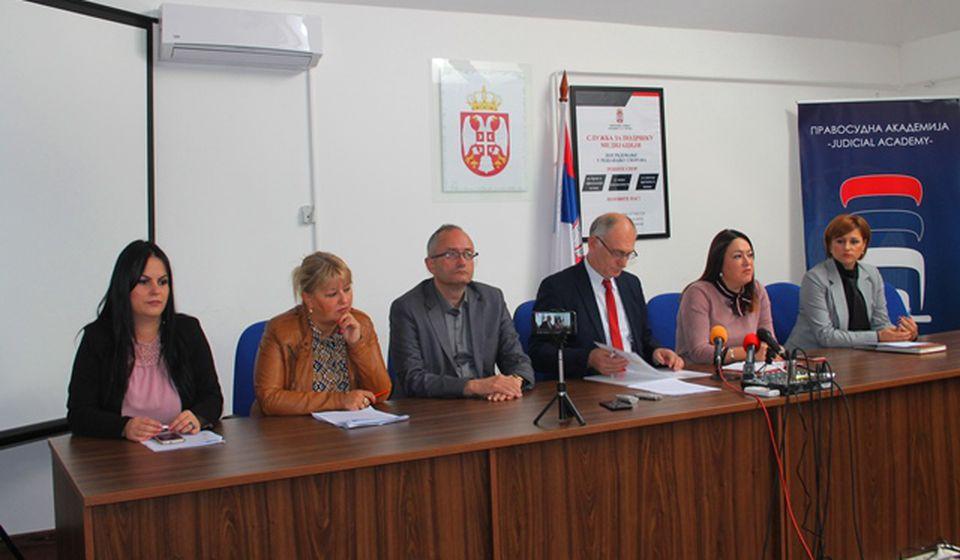Uskoro dobijaju pojačanje: sudije Osnovnog suda u Vranju. Foto VranjeNews