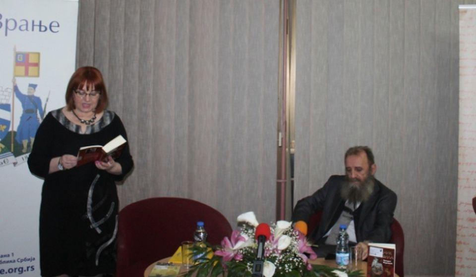 Povratak na književnu scenu Predraga Markovića. Foto Grad Vranje