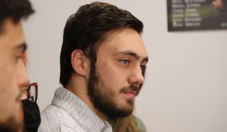 Mladi Đorđe Velimirović, inače gostujući glumac, u ulozi Žorž Dandena. Foto Vranje News