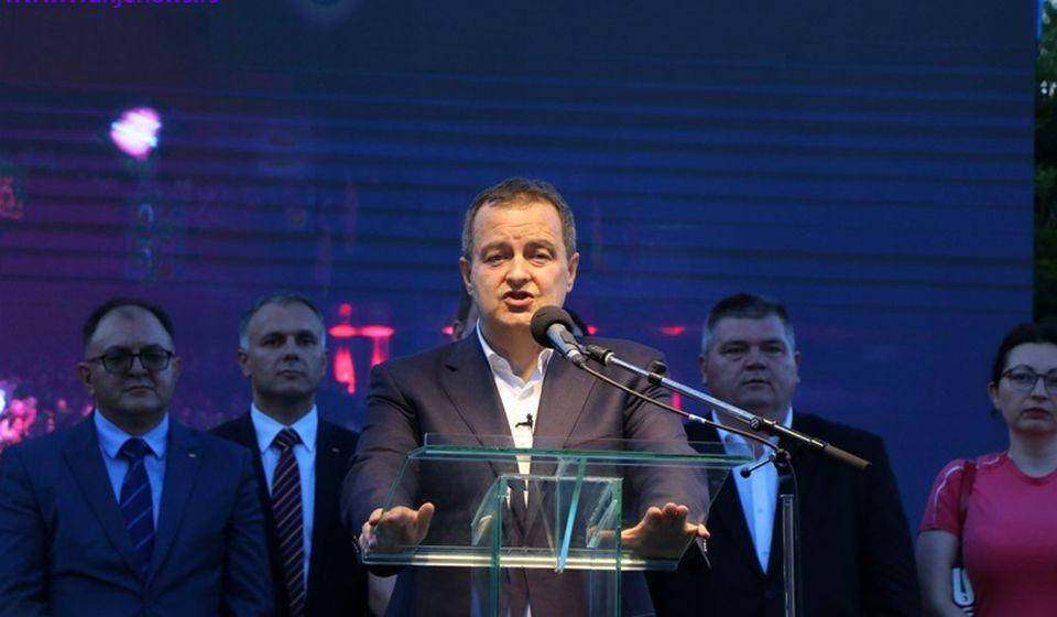 Volim i ja vas: Ivica Dačić. Foto Vranje News