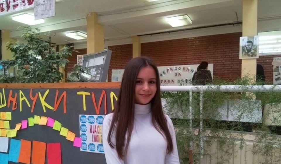 Informatika ili matematika, pitanje je sad: Leonora Ristić. Foto VranjeNews