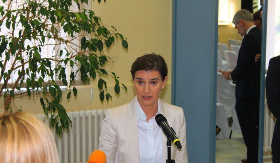 Gradiće se stadion u Vranju, obećala premijerka. Foto VranjeNews