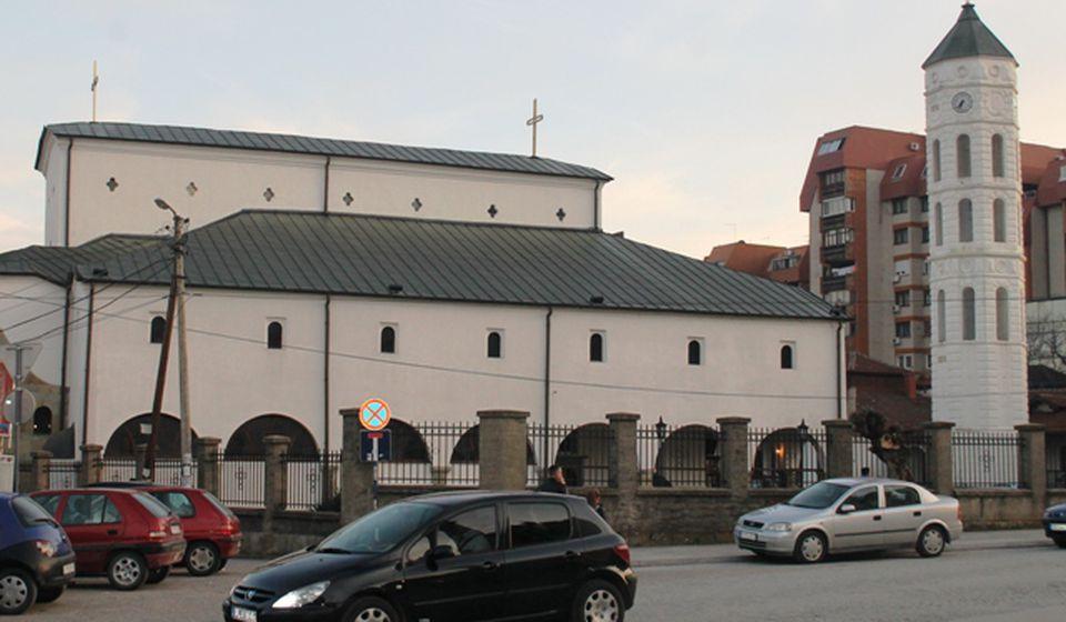 U crkvu se nosi šimšir, tisa, grančica vrbe i masline: Hram Svete Trojice u Vranju. Foto VranjeNews