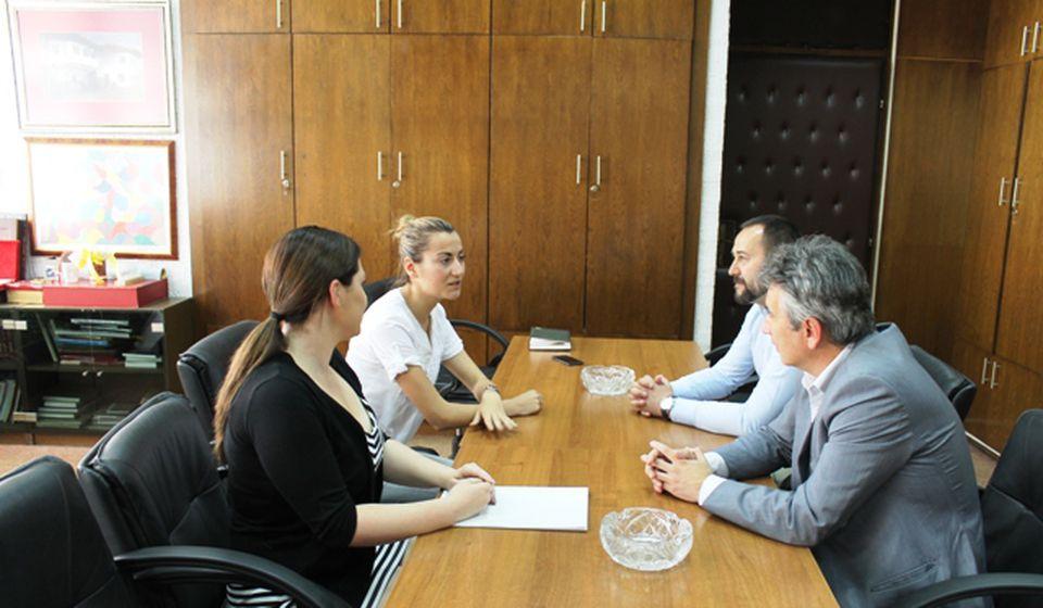 Milenković poručio da će lokalna samouprava i dalje podržavati talente. Foto Grad Vranje
