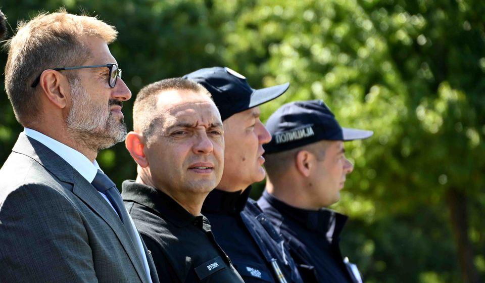 Aleksandar Vulin. Foto MUP