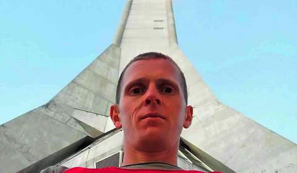 Osvojio Beogradski maraton. Kristijan Stošić. Foto AK Vranjski maratonci