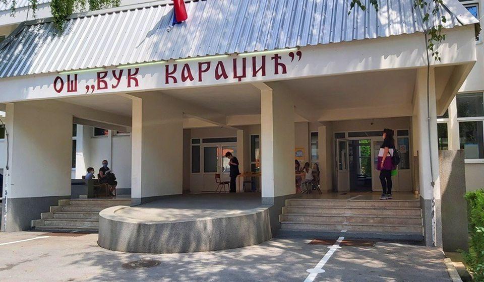 OŠ Vuk Karadžić u Vranju. Foto Vranje News