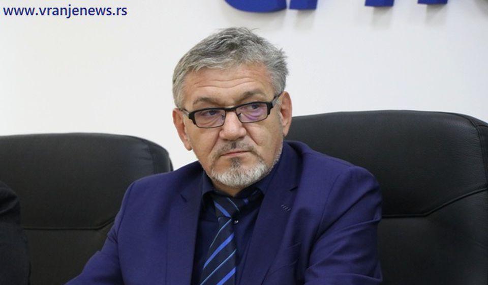 Goran Đorđević, direktor Vodovoda. Foto Vranje News