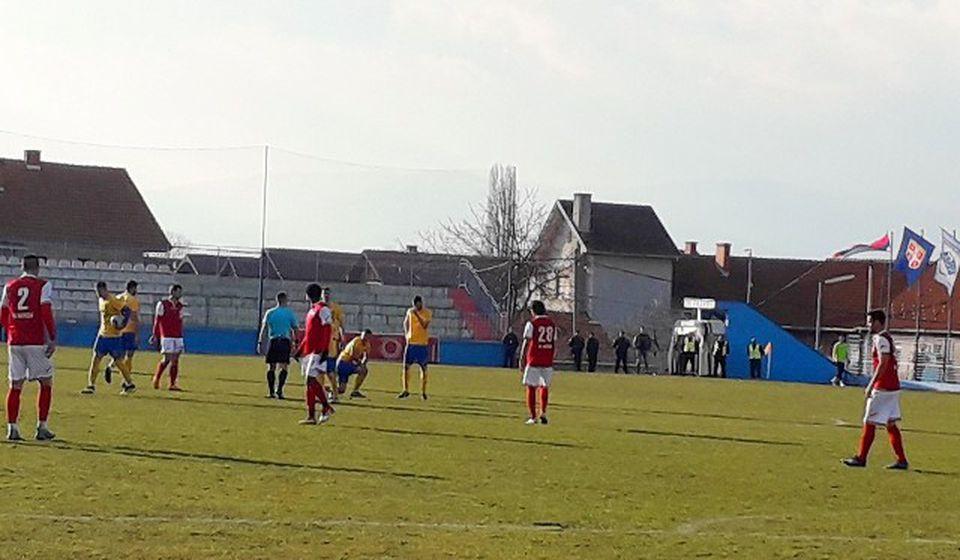 Detalj sa današnje utakmice u Surdulici. Foto VranjeNews