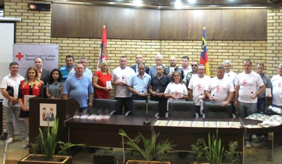 U 2017. godinu prikupljeno 3.401 jedinica krvi. Foto Grad Vranje