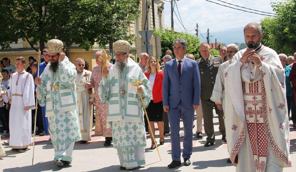 Litije ulicama Vranja. Foto VranjeNews