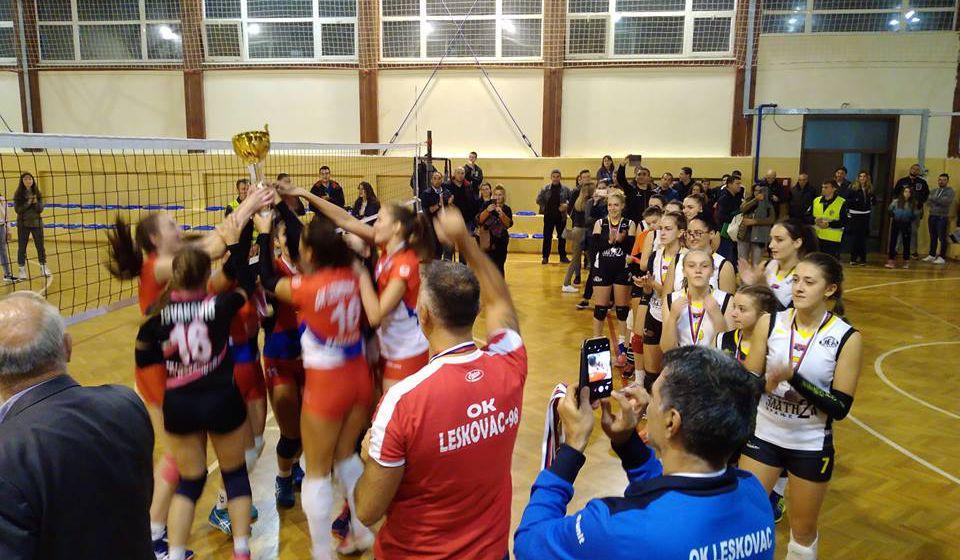 Leskovčanke slavile u Vranju. Foto OK Panda