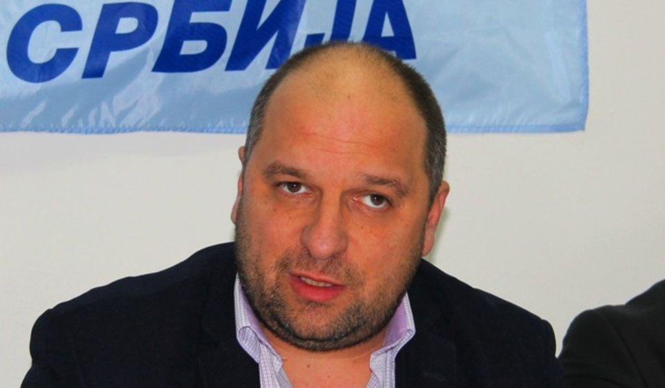 Okružni lider Nove Srbije Ivica Petrušević. Foto VranjeNews