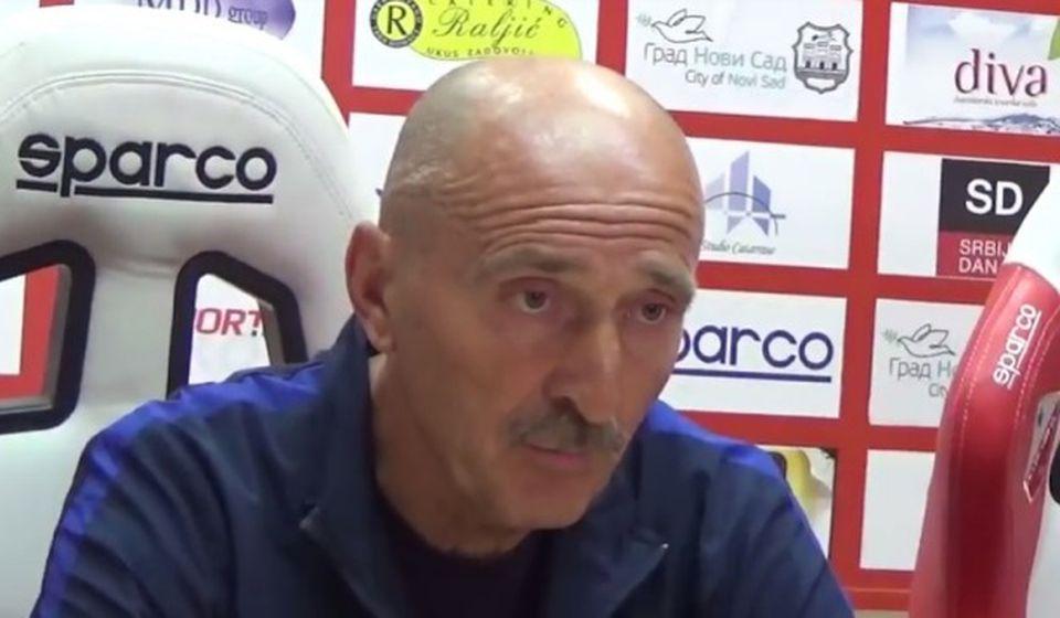 Radmilo Jovanović. Foto Super liga screenshot