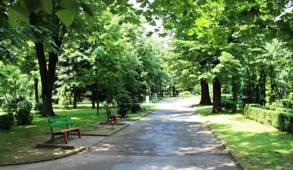 Gradski park u Vranju, jedna od lokacija gde će se obaviti zaprašivanje. Foto Grad Vranje