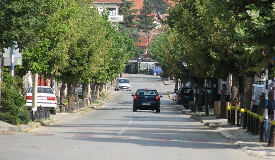 I Ulica Cara Dušana do daljeg bez vode. Foto Vranje News