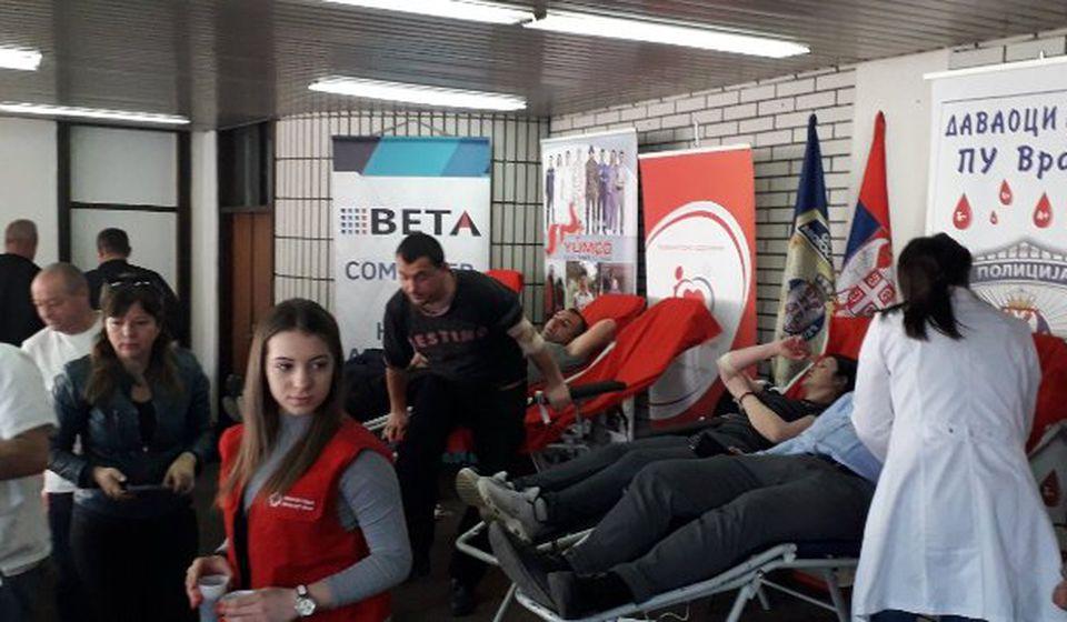 Sa jedne od prethodnih akcija PU Vranje. Foto Vranje News