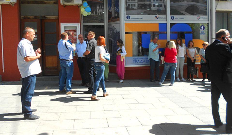 Info centar TOV-a. Foto VranjeNews
