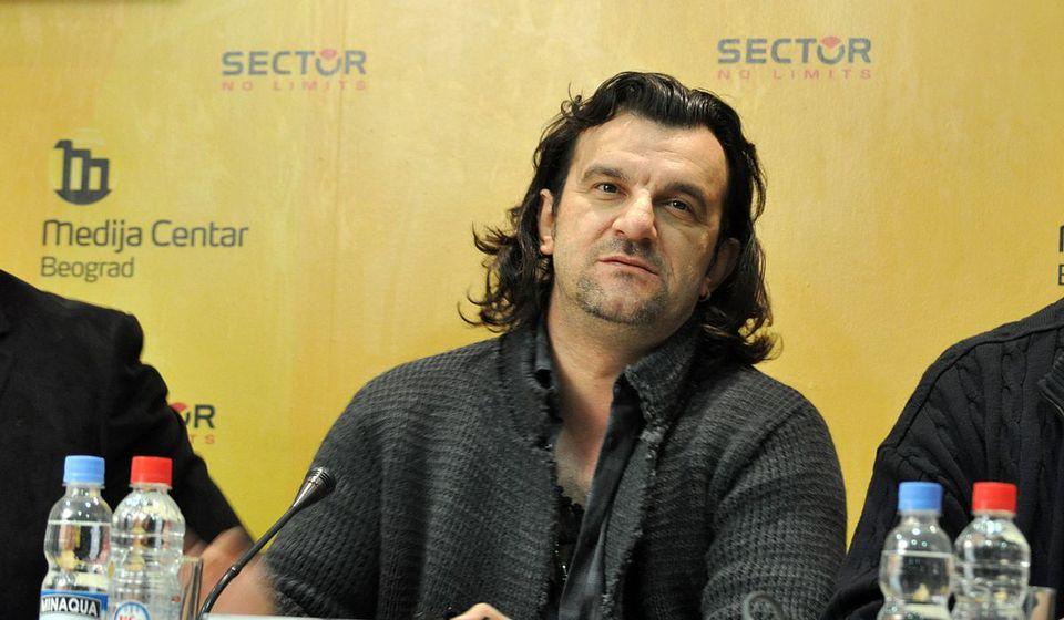 Popularni pevač postao potpredsednik vranjskog superligaša. Foto MC Beograd
