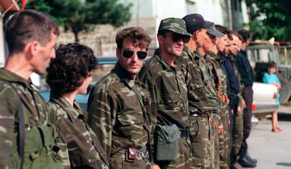 Foto UCK or KLA (Kosovo Liberation Army)