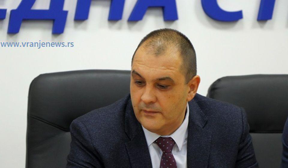 Procesi za nenamensko trošenje para u ZC Vranje su još pred sudovima: Velibor Antoniojević. Foto VranjeNews