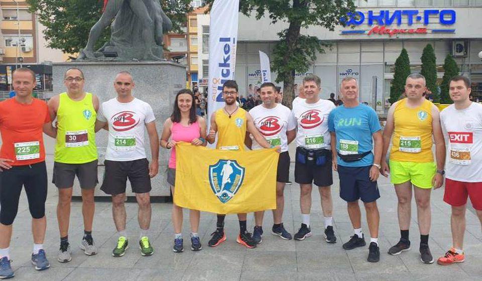 Ekipa iz Vranja u Kavadarcima. Foto AK Vranjski maratonci