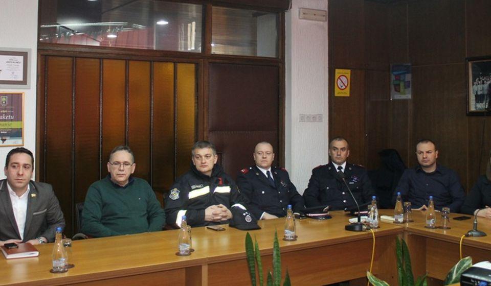 Civilna zaštita formira vod za zaštitu od požara. Foto Grad Vranje