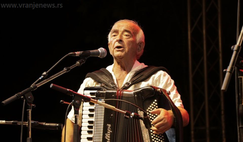 Slobodan Jovanović, baštiniki stare vranjske pesme. Foto Vranje News
