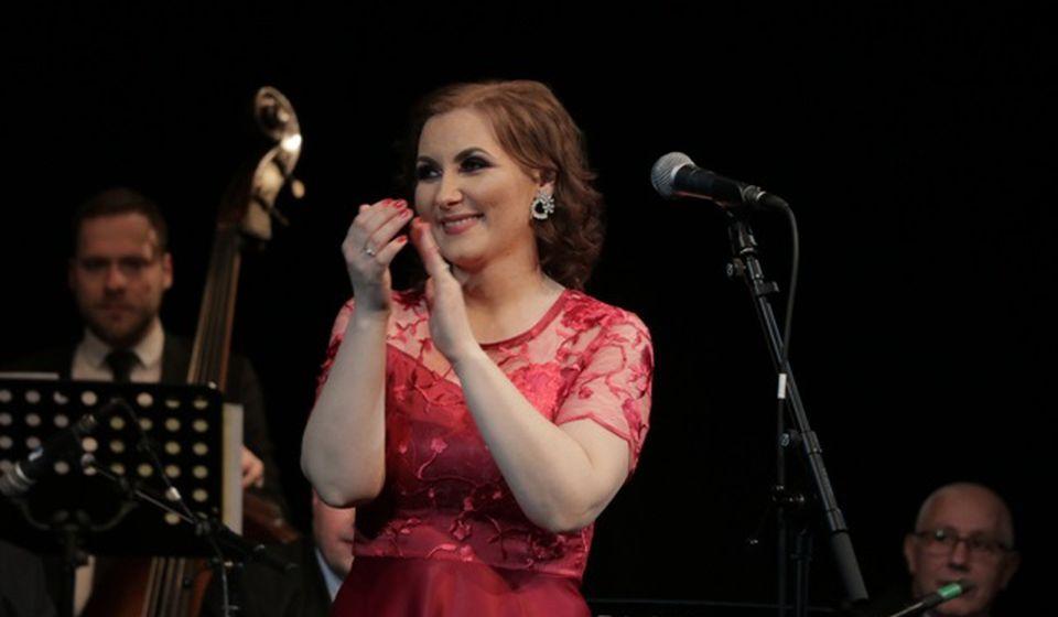 Ivana se odlučila da prvi solistički koncert u karijeri napravi za svoje Vranjance. Foto Vranje News