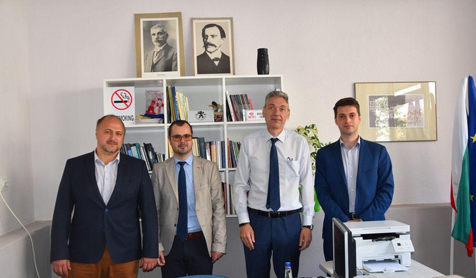 Bugarski ambasador u prostorijama BSC. Foto BSC