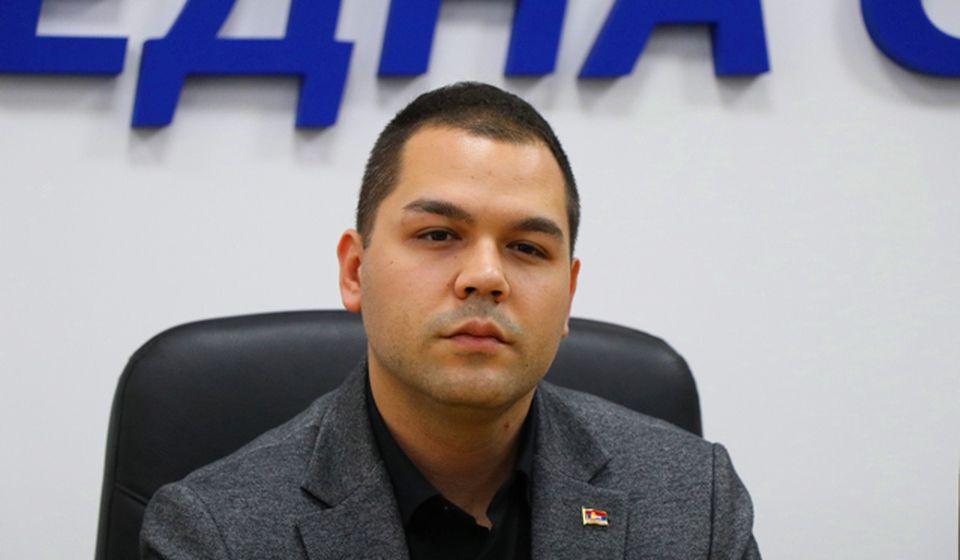 Mladi će biti stub Srbije: Milan Ilić. Foto Vranje News