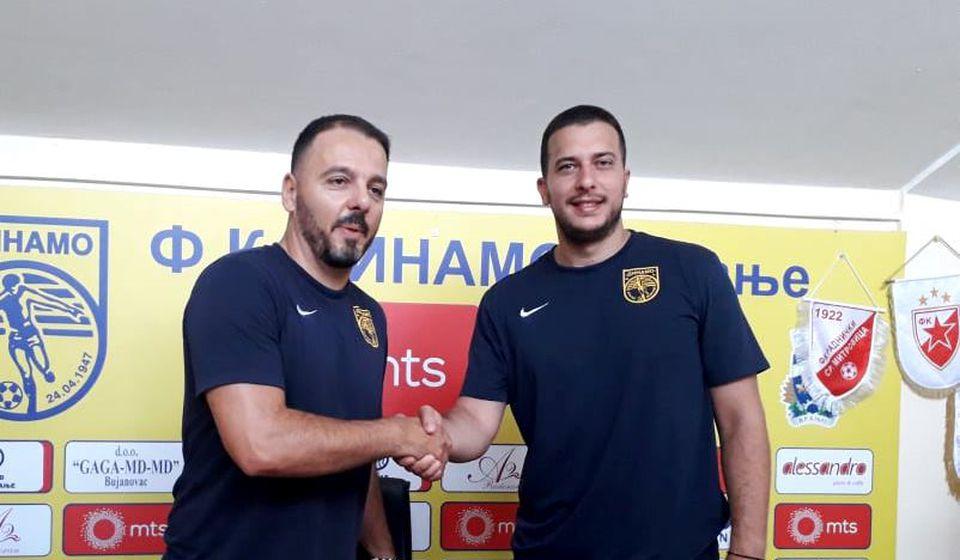 Saša Jovanović je novi trener Dinama. Foto FK Dinamo