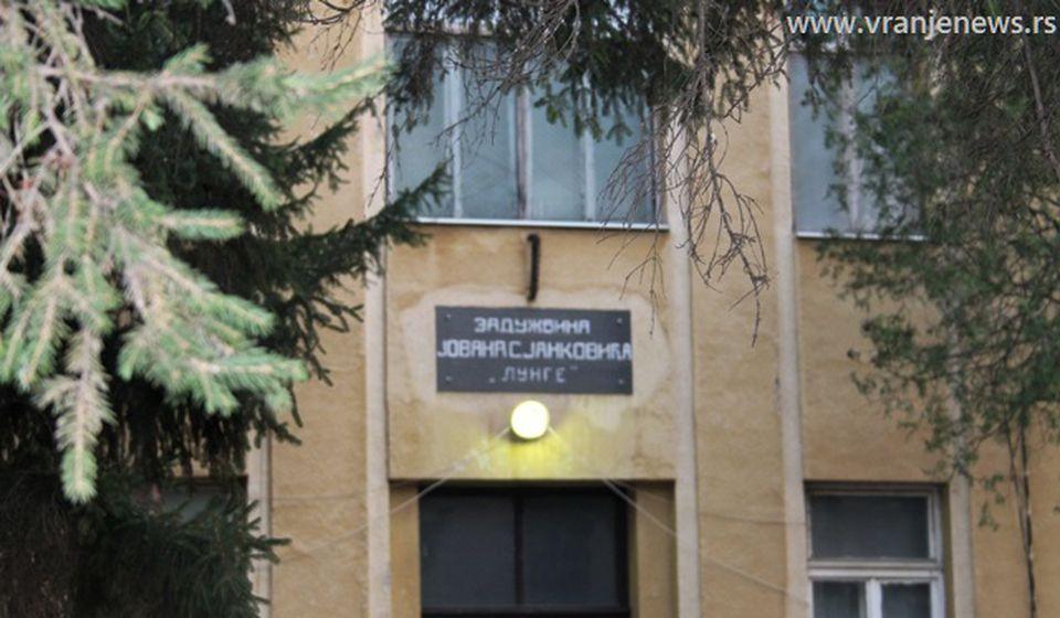 Zgrada stare Hirurgije u Vranju, trenutno COVID bolnica. Foto Vranje News