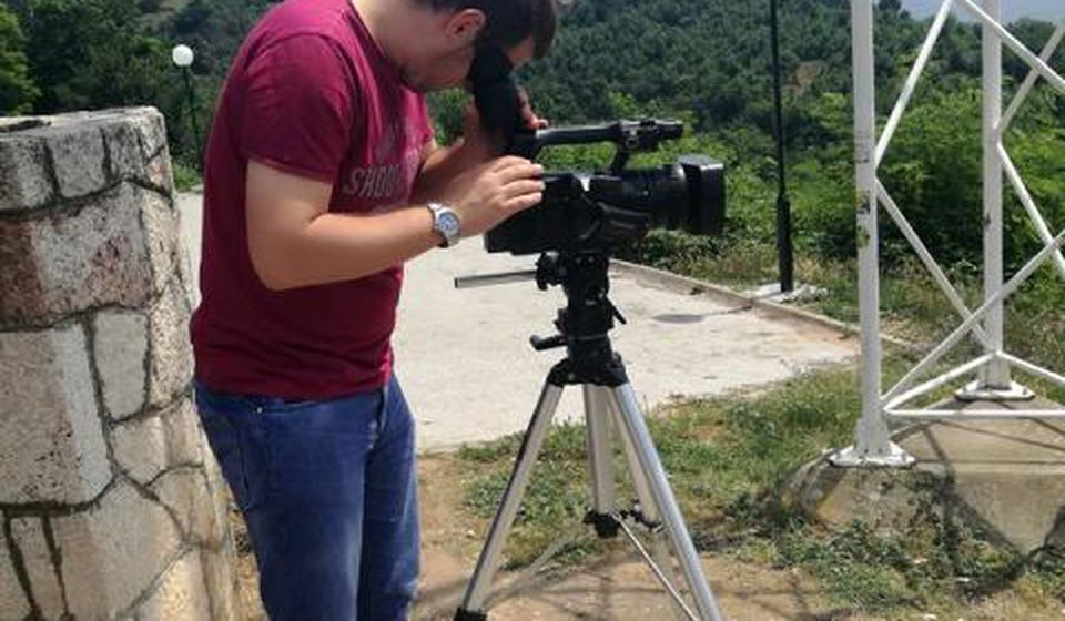 Snimanje na Pržaru. Foto BSC