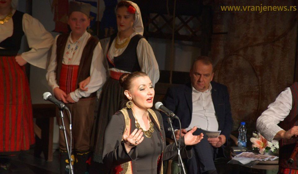 Vokalna solistkinja Ivana Tasić. Foto Vranje News