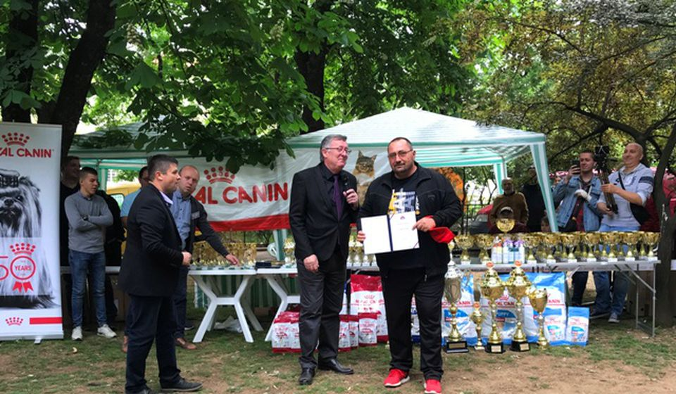 Isidor Vlajinac, odgajivač pasa. Foto VranjeNews