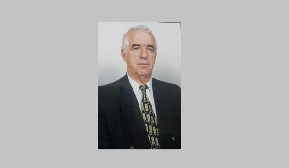 Abdurahman Emrulahu, poslednji predsednik Opštinskog komiteta Saveza komunista u Preševu. Foto lična arhiva R.I.