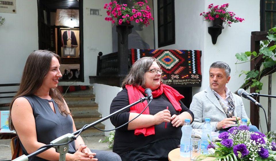 Bužarovska, Marjanović i Alić. Foto Vranje News