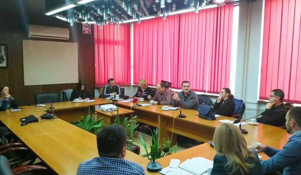 Detalj sa sastanka Organizacionog odbora. Foto Grad Vranje