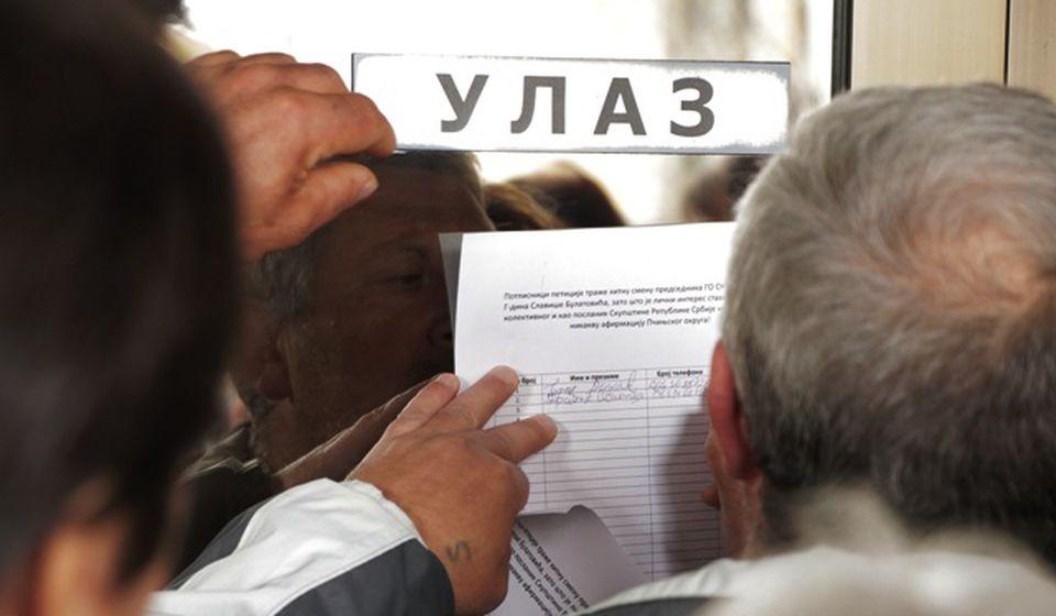 Peticija kojom se traži smena Slaviše Bulatovića.