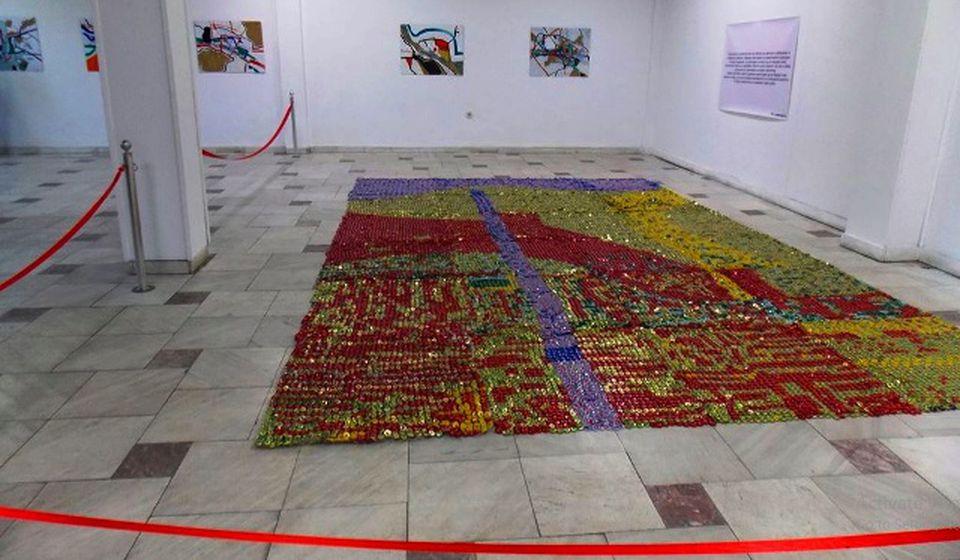 Radovi Katerine Despot i Vaske Sandeve. Foto markocepenkov.org